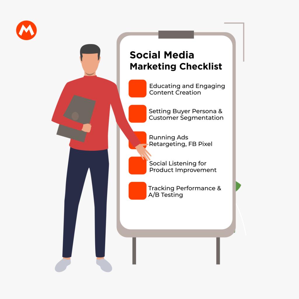 Things to do Under Social Media Marketing